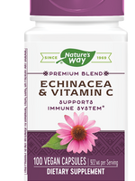NATURE'S WAY ECHINACEA & VITAMIN C 100 VGC