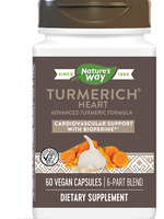NATURE'S WAY TURMERICH HEART 60 VGC