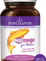 NEW CHAPTER WHOLE OMEGA PRENATAL 90S