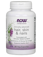 Now Solutions, Hair, Skin And Nails, Clinically Tested Cynatine, 90 Veg Capsules
