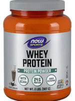 Now Whey Peotein 2 Lb Dutch Chocolate