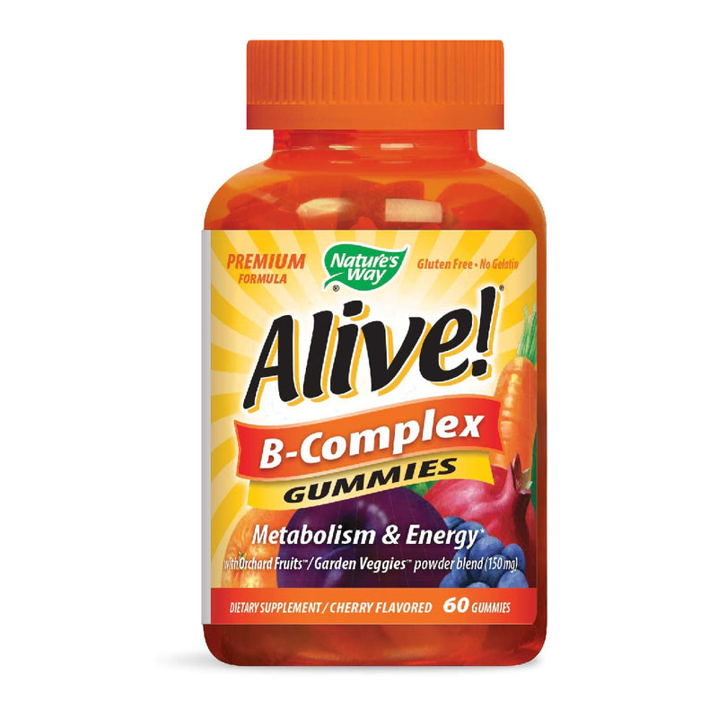 Nature's Way,  Alive!  B-Complex,  60 Gummies