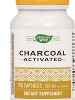 Nature's Way Activated Charcoal Yelo 100 Caps