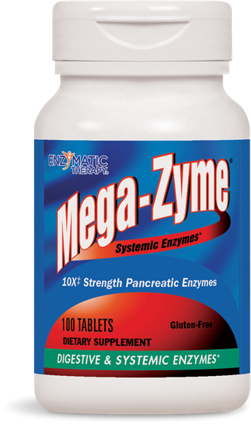 Nature's Way Mega Zyme 100 Tabs