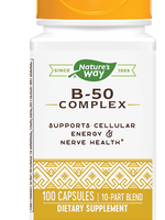 Nature's Way Vitamin B 50 Complex 100 Caps