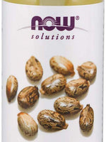 Now Solutions Castor Pure Oil 100%, 4 Oz
