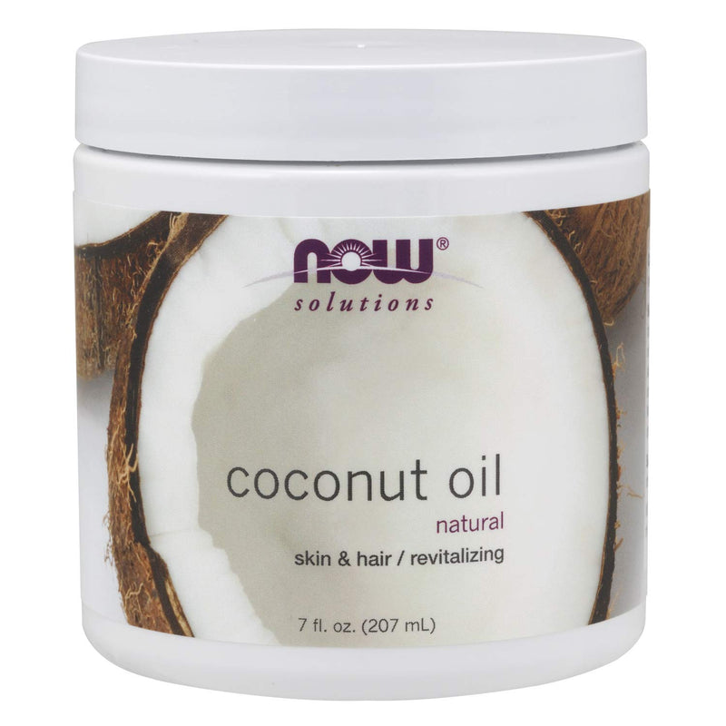 Now Essential Oils, Coconut Oil Natural, 7 Oz