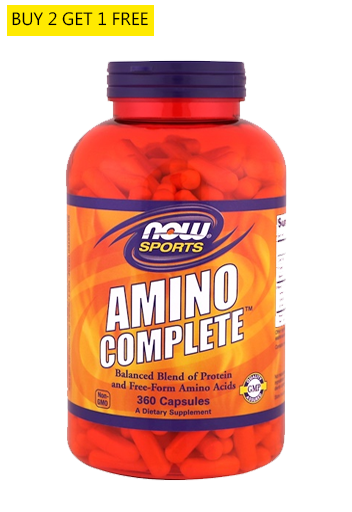 Now Foods, Amino Complete 120caps, Dietary Supplement