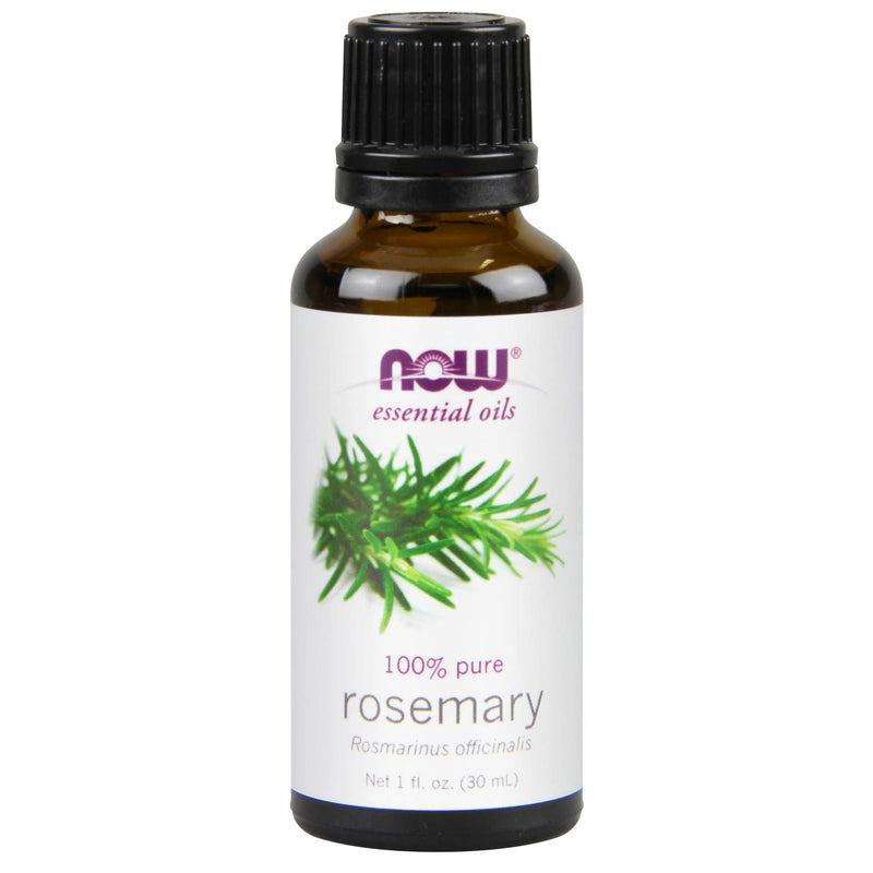 Now Essential Oils, Rosemary Oil, 100% Pure, 1 Oz