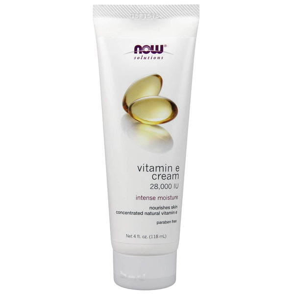 Now Vitamin E Cream, 4 Oz