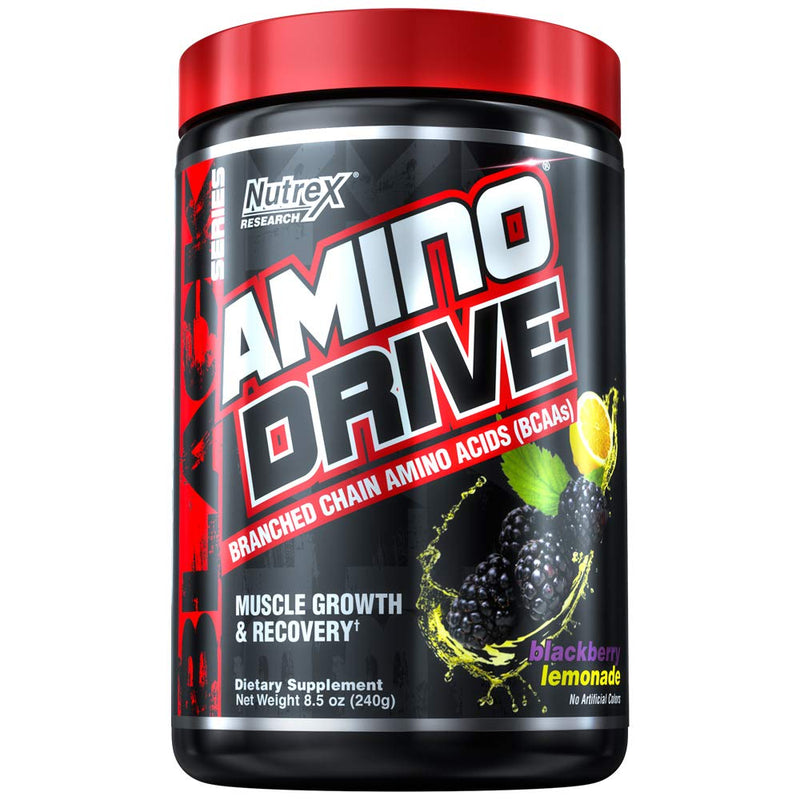 Nutrex Research Amino Drive, Blackberry Lemonade, 240g