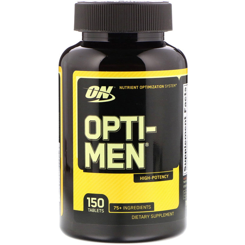 Optimum Nutrition Opti-Men 150 Tabs,Dietary Supplement