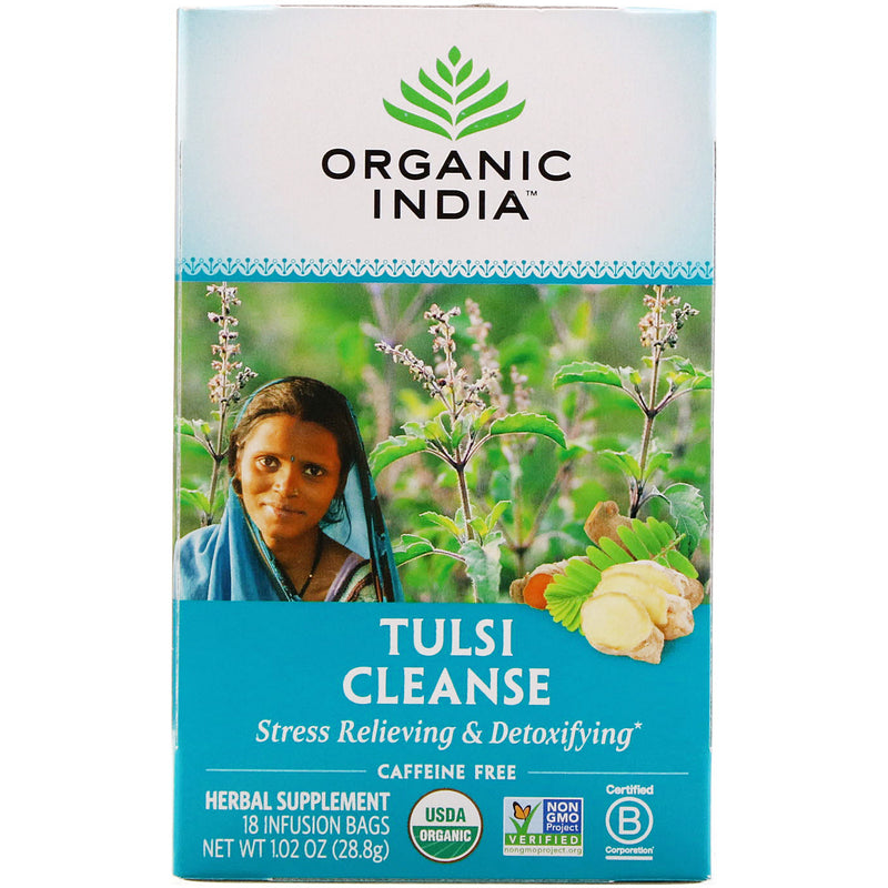 Organic India, Tulsi Cleanse,  18 infusion Bags