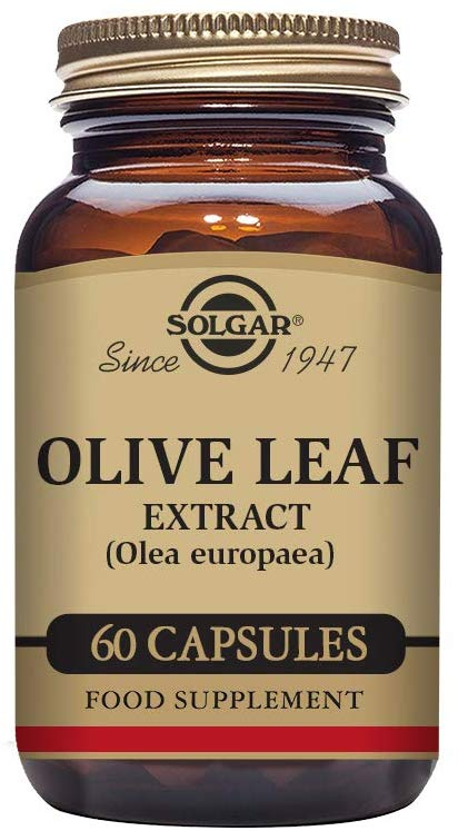 Solgar Olive Leaf Extract, 60 Capsules, 60 Servings