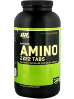 Optimum Nutrition, Superior Amino 2222 , 320 Tablets