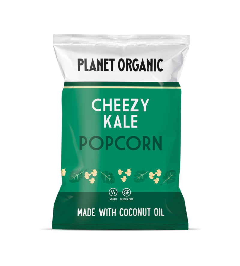 3 packs - Planet Organic Cheezy Kale Popcorn