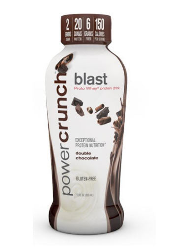 Power Crunch Blast Rtd Protein Drink - Double Chocolate (Pack Of 12 Bottles)