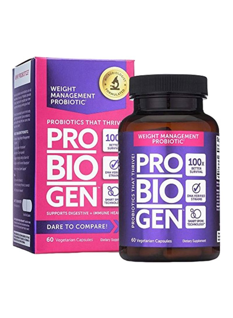 Probiogen Weight Management Probiotic - 60 Caps