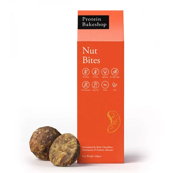 Protein Bakeshop Nut Bites 60 Grams