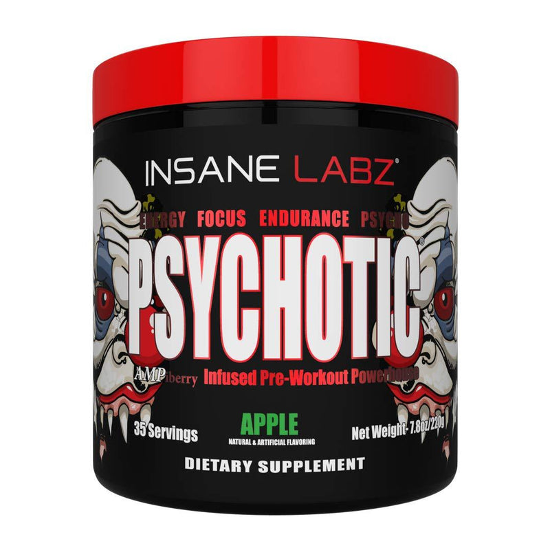 Psychotic Red 35 Servings 220gm, Pre Workout