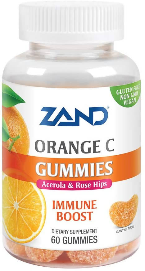 ZAND - GUMMIES; ORANGE C; 60 GUMMIES
