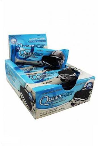 Quest Nutrition Quest Protein Bar - Cookies & Cream - (12 Bars) (Expiring in December)