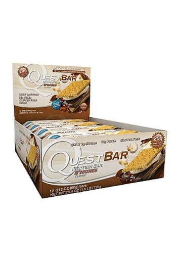 Quest Nutrition Quest Protein Bar - Smores - (12 Bars)
