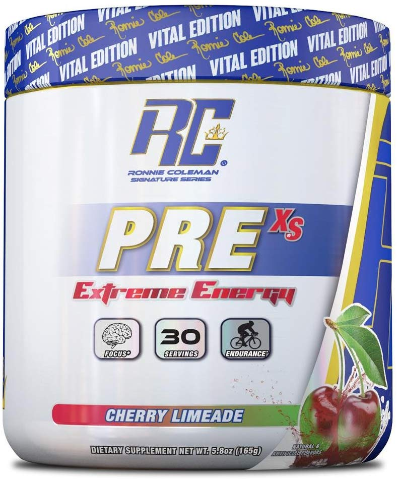 Ronnie Coleman Supplement Pre 30svg  Cherry Limeade