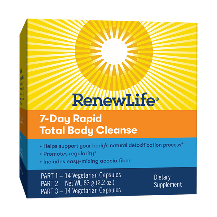 RENEW LIFE RAPID CLEANSE 7DAYS KIT