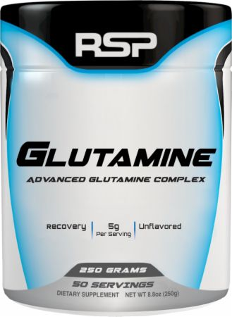 RSP Glutamine 50svg 250gm, Dietary Supplement