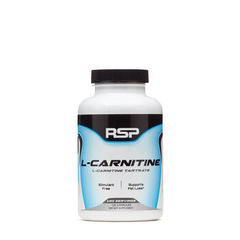 RSP L-Carnitine 120 Capsules, Fat Loss Support