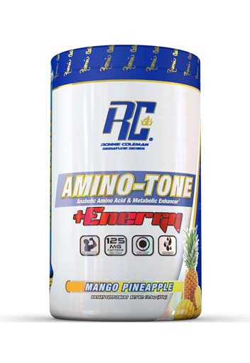 Ronnie Coleman Amino Tone Energy Mango Pineapple 30 svgs