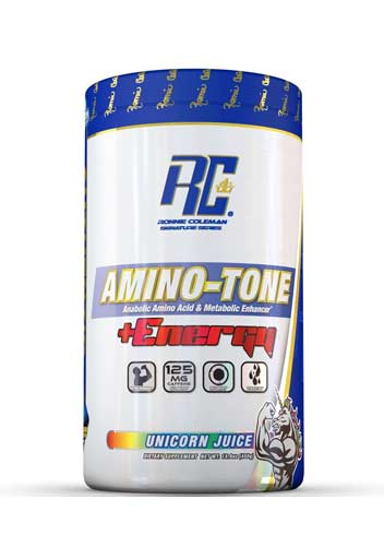 Ronnie Coleman Amino Tone Energy - Unicorn Juice 30 Svgs