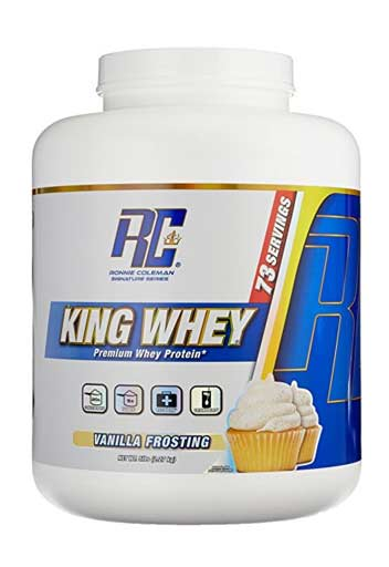 Ronnie Coleman King Whey,  Vanilla Frosting,  5 Lbs