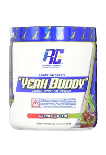 Ronnie Coleman Pre Workout Powder Cherry Limeade 30 Svgs
