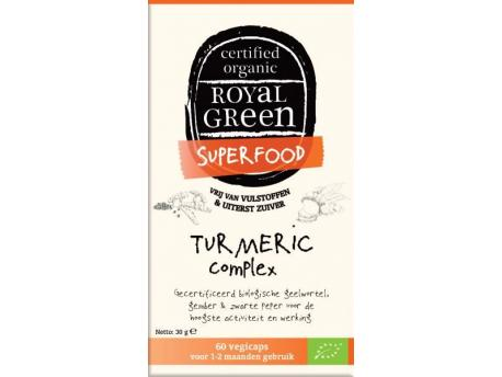 Royal Green Turmeric Complex 60 Caps,Dietary Supplement
