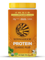 Sunwarrior Classic Plus Vanilla 750 Gm