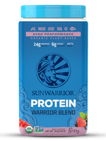 Sunwarrior Warrior Blend Berry 750 Gm