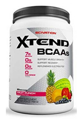 Scivation Xtend Bcaas - Fruit Punch, 90 Servings