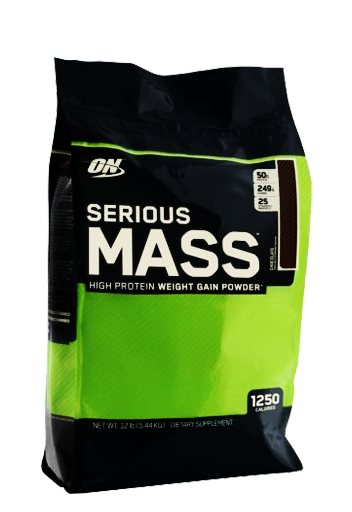 Optimum Nutrition Serious Mass 12Lb Chocolate