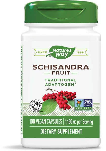 NATURE'S WAY SCHIZANDRA FRUIT 100 VCAPS