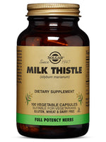 Solgar - Full Potency Milk Thistle, 100 Vegetable Capsules