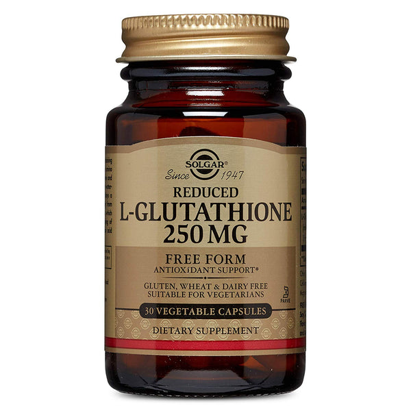 "Solgar €"" Reduced L-Glutathione 250 Mg, 30 Vegetable Capsules"