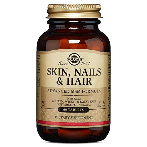 Solgar - Skin, Nails And Hair, Advanced Msm Formula, 60 Tablets