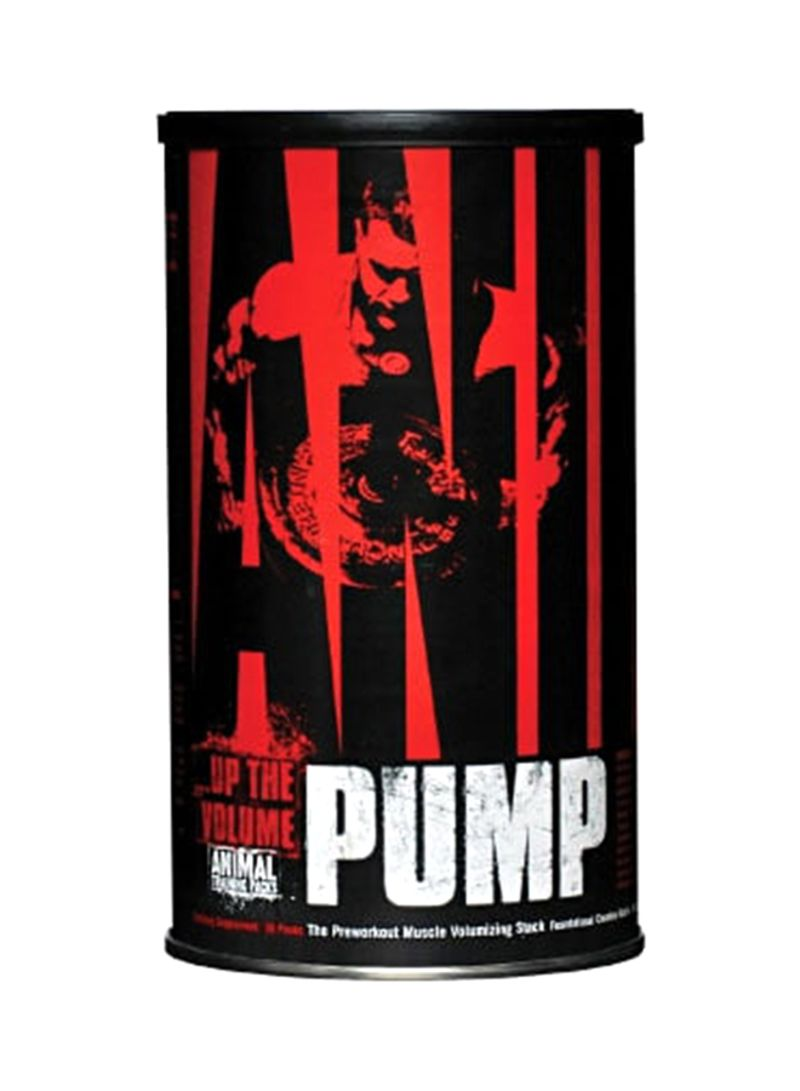 Universal Nutrition Animal Pump Pre-Workout-30 Packets