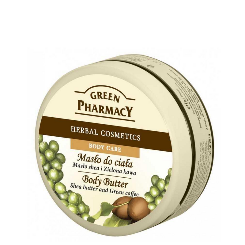 Green Pharmacy Body Butter Shea Butter & Green Coffee - 200ml