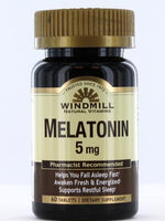 WINDMILL MELATONIN 5MG 60 TABS