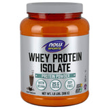 Now Sports Nutrition, Whey Protein Isolate Powder, Creamy Chocolate, 1.8 Lbs