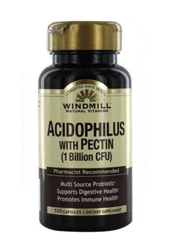 Windmill Acidophilus Probiotic Blend With Pectin - 100 Caps
