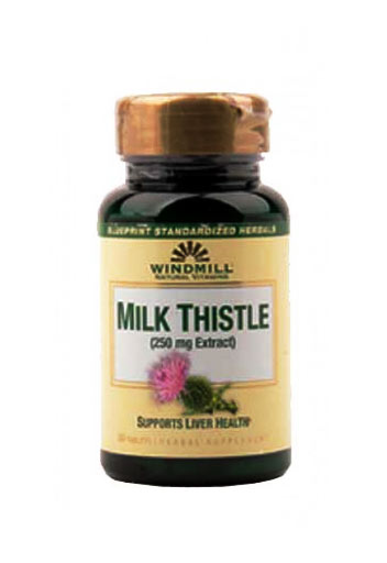 Windmill Milk Thistle 250 Mg - 30 Capsules